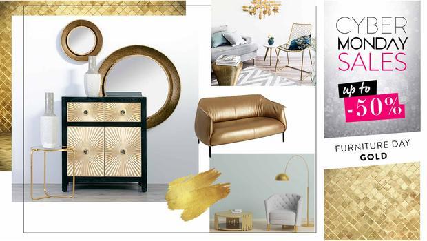 Gold: kolekce nábytku