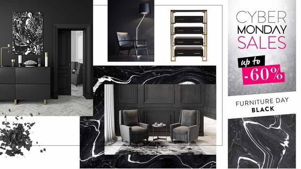 Black: kolekce nábytku