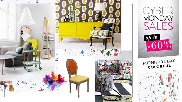 Colorful: kolekce nábytku