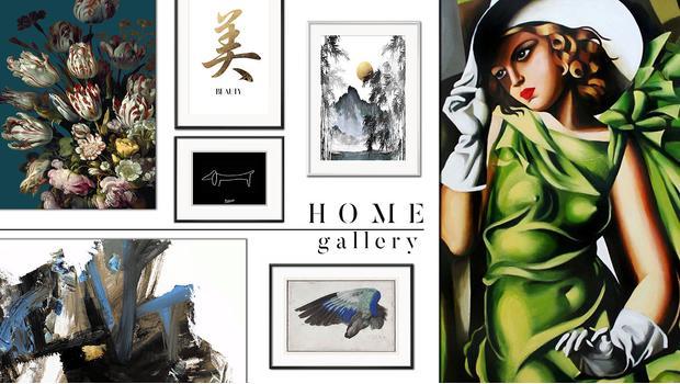 Domácí umělecká galerie