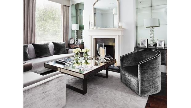 Luxus v šedé