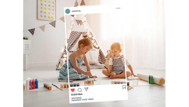 Dětský pokoj z Instagramu