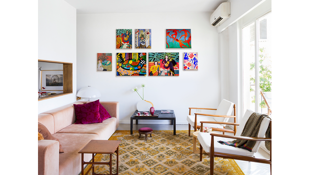 Aranžmá à la Matisse