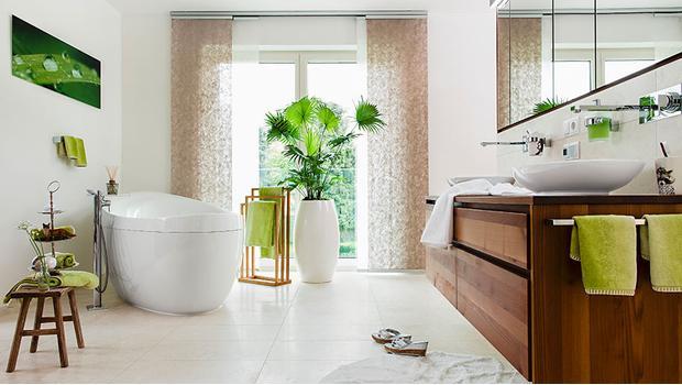 Tropická koupelna