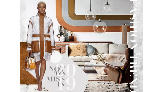 Trend 2019: leather & acryl