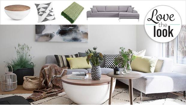 Obývací pokoj modern scandi