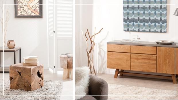 Dřevěný nábytek na léta
