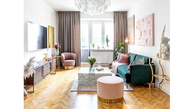 Obývací pokoj podle Westwing