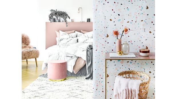 Marble vs Terrazzo Bedroom