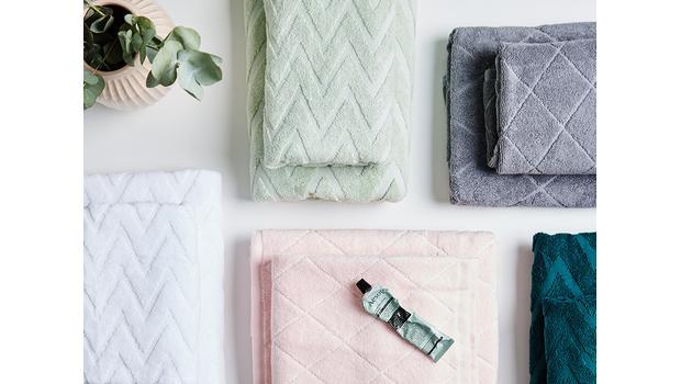 Koupelnové textilie 3 značek