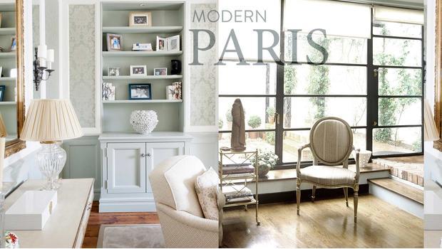Pařížský obývací pokoj