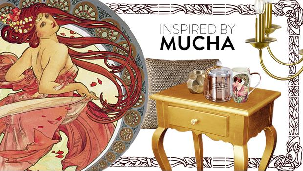 Inspired by Mucha