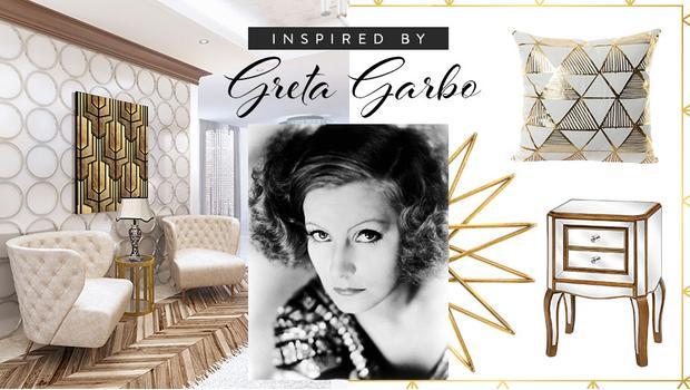 Diva art deka: Greta Garbo
