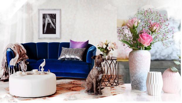 Obývací pokoj jako z obláčku