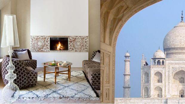 Inspirativní lesk Tádž Mahalu