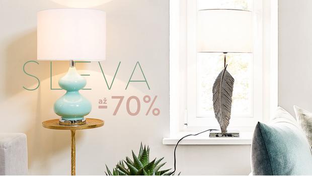 Elegantní stolní lampy