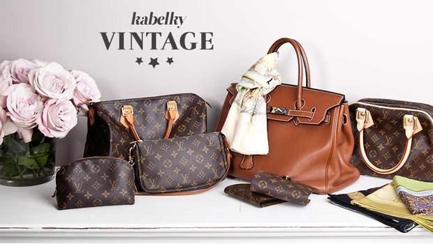 Originální vintage kabelky