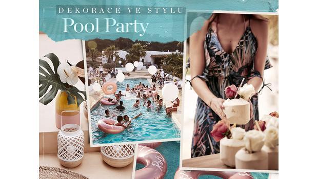 Pool Party v tropickém stylu