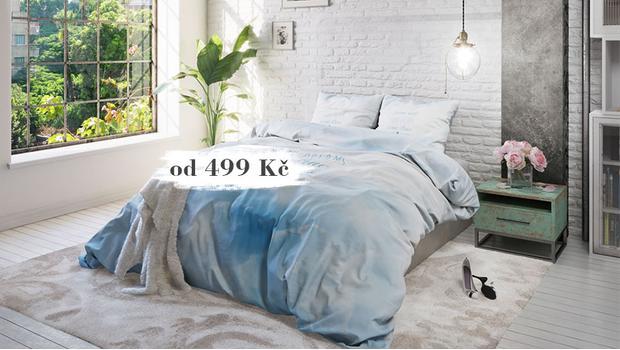 Stylové ložnicové textilie
