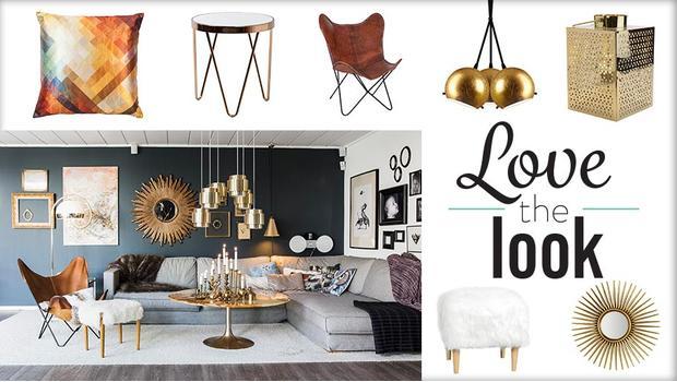 Okouzlující obývací pokoj