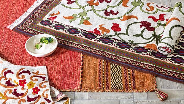 Ručně tkané kilimy