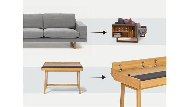 Prakticky navržený nábytek