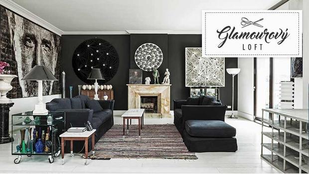 Glamourový loft