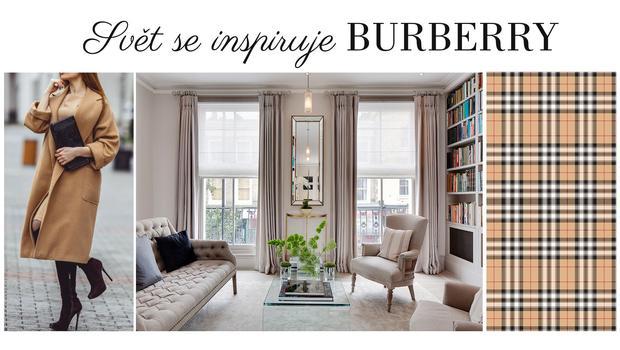 Inspirováni stylem Burberry