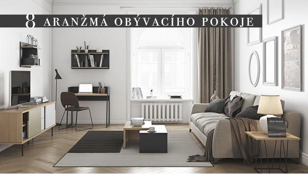 Funkční obývací pokoj