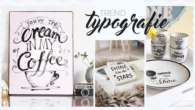 Trend: typografie