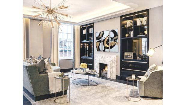 Projekt: luxusní rezidence