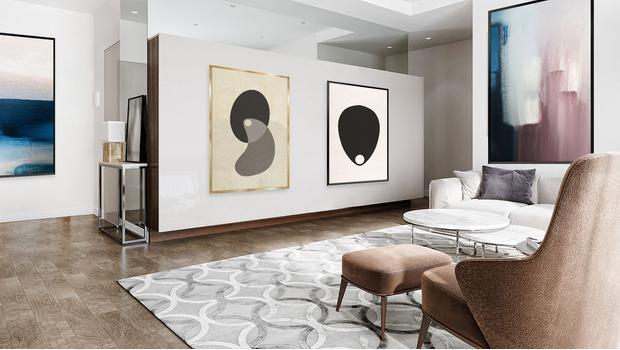 Elegantní domácí galerie