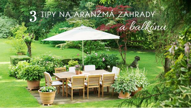 Aranžmá vaší zahrady a balkónu