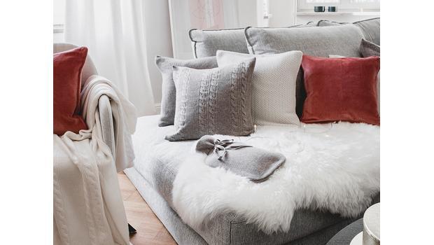 Luxuriöse Cashmere-Accessoires