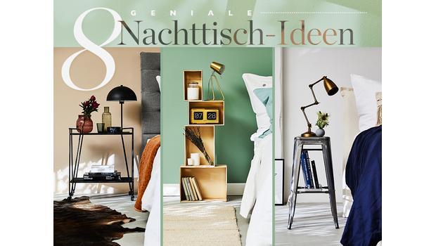 8 geniale Nachttisch-Ideen
