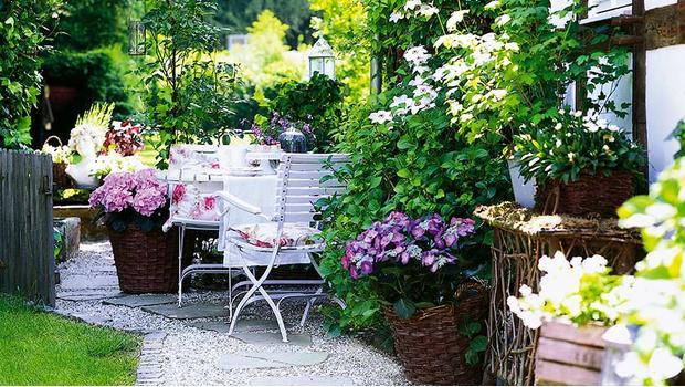 Garten-Romantik in Cornwall