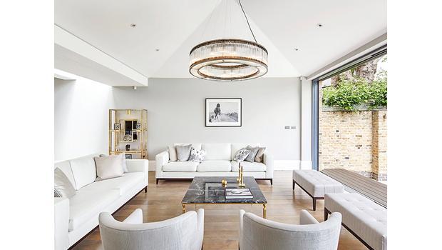 Ein Zuhause ganz in Weiß