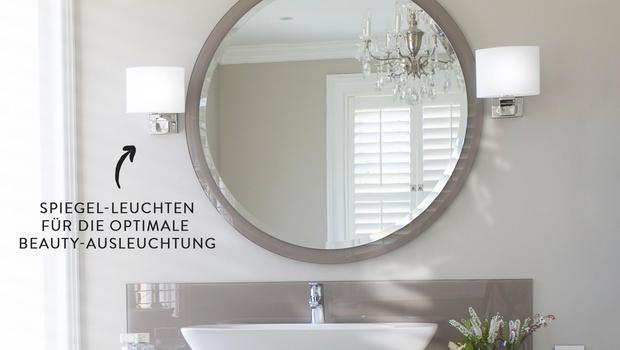 Das perfekte Licht fürs Bad