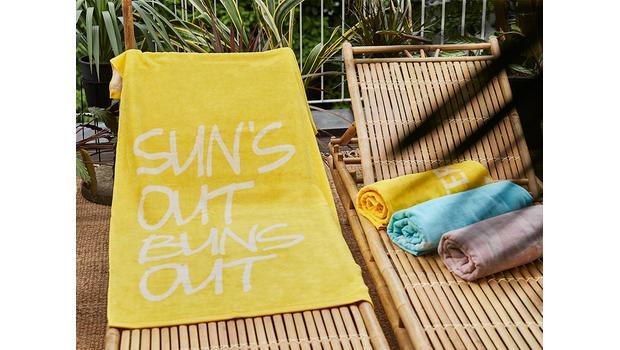 Die coolsten Strandtücher