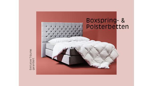 Boxspring- & Polsterbetten