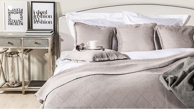 Tagesdecken Kissen Baumwoll Basics Furs Bett Westwing