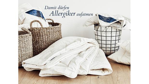 Bettwaren für Allergiker