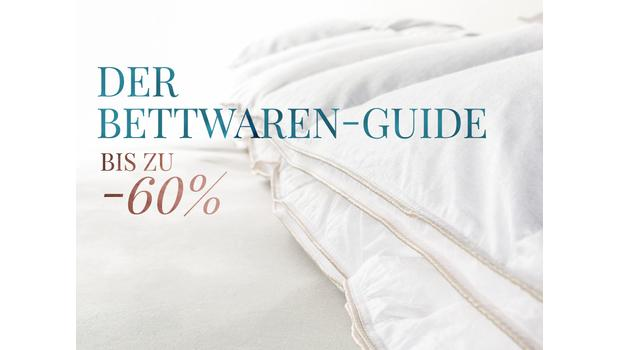 Der Bettwaren-Material-Guide