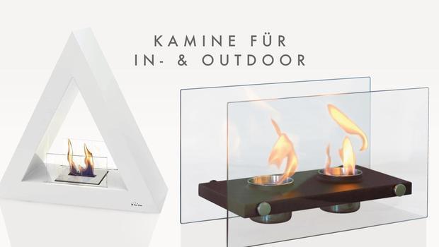Kamine für In- & Outdoor
