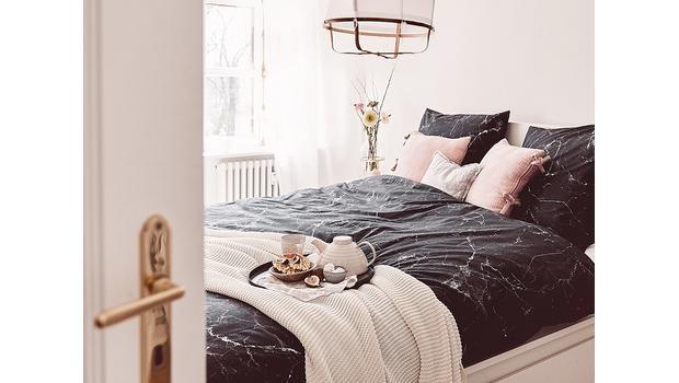 Marmor-Bettwäsche