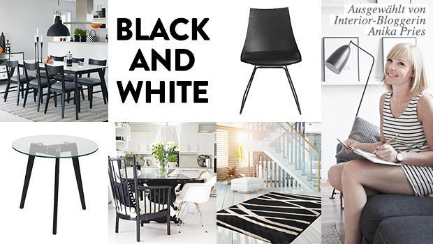 Black & White Deko