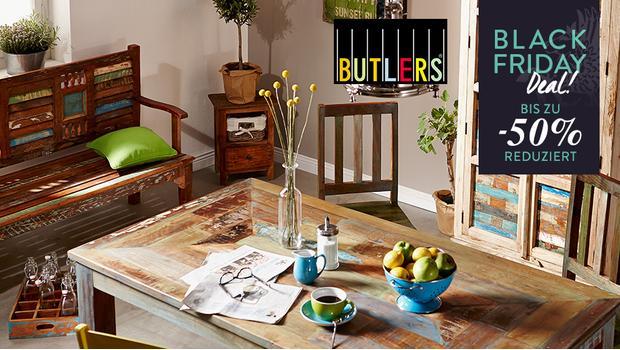 BUTLERS – Accessoires, Möbel