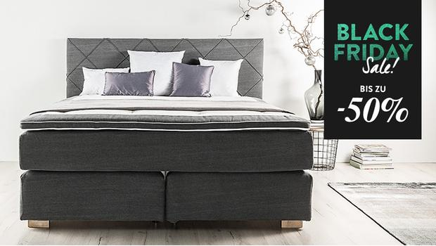 Urbancasa Premium-Boxspringbetten –50% | Westwing