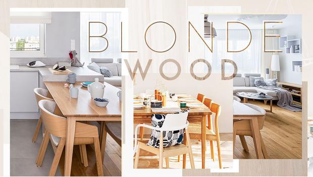 Wohn-Trend: Helles Holz