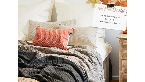 Herbst-Check: Bettwäsche
